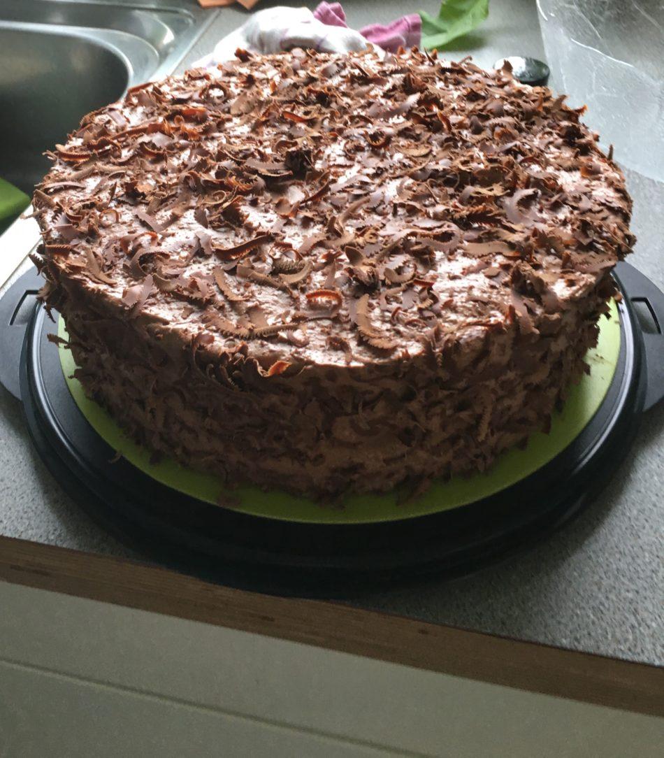 Schoko-Baiser-Torte